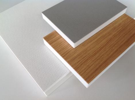 SmartPerf - valkoinen, puutekstuuri + alumiini